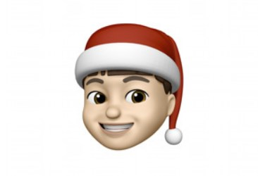iPhone: the tip for a Christmas hat on your Memoji