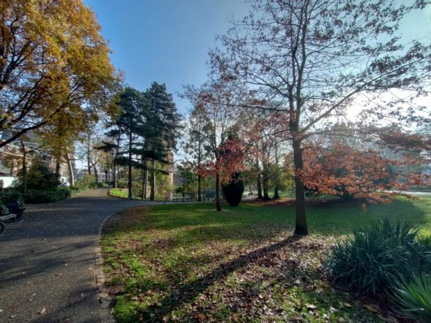 OnePlus Nord N10 5G - normal vs wide angle