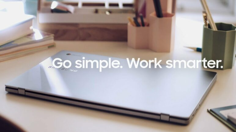 Chromebook 4 and 4+: Simple is Smarter |  Samsung
