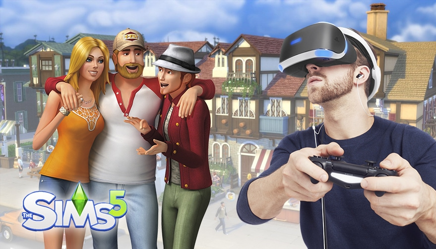 The Sims 5 VR headsets