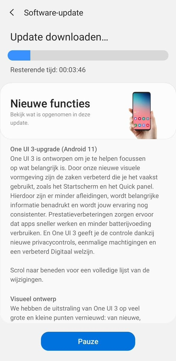 Samsung Galaxy Note 20 (Ultra) now receives Android 11 in the Netherlands