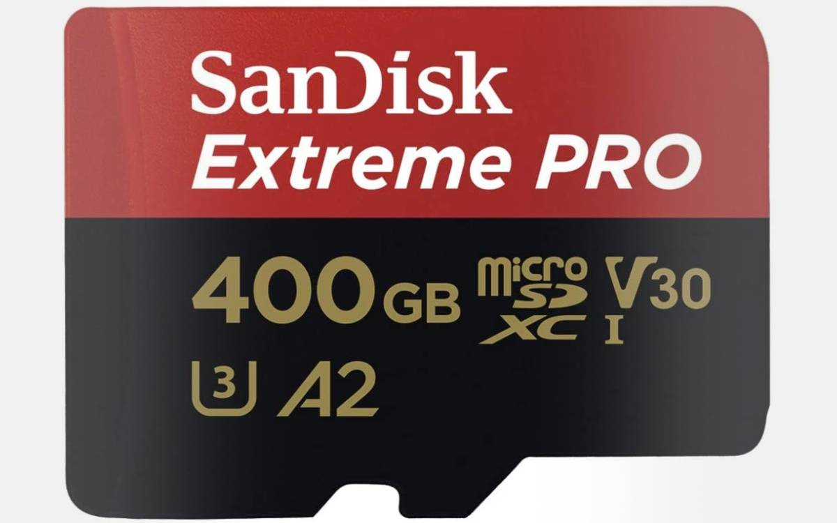 cheap SanDisk Extreme Pro 400gb memory card