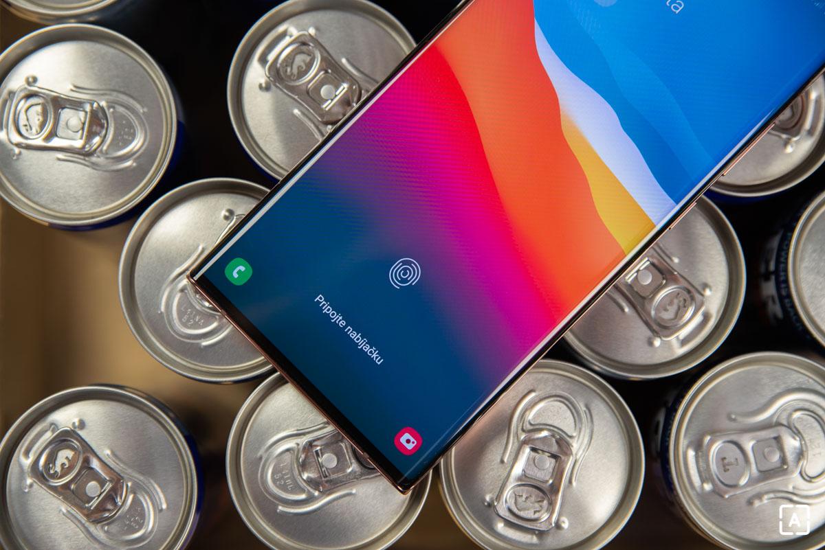 Samsung Galaxy Note 20 Ultra snimac odtlackov prstov