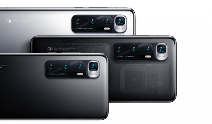 Xiaomi Mi 10 Ultra fotoaparát