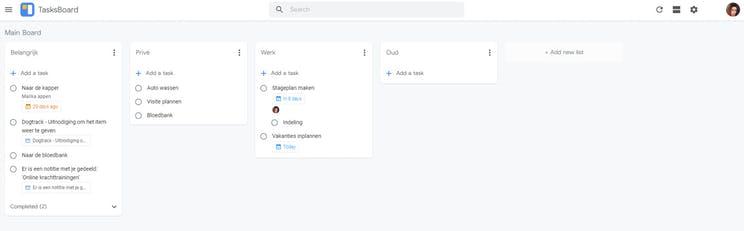 App of the week: TasksBoard, a great addition to Google Tasks
