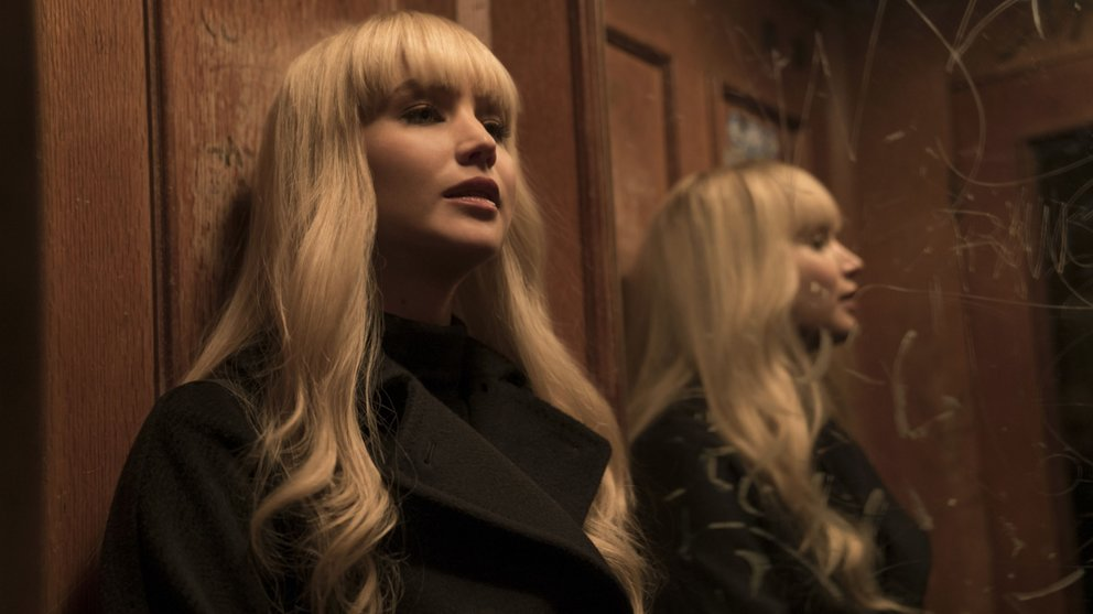 New on Netflix: Red Sparrow.