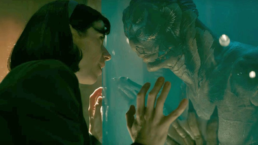 New on Netflix: The Shape of Water.