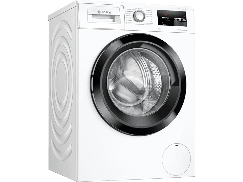 BOSCH WAU28U00 washing machine with 1400 rpm.  in white