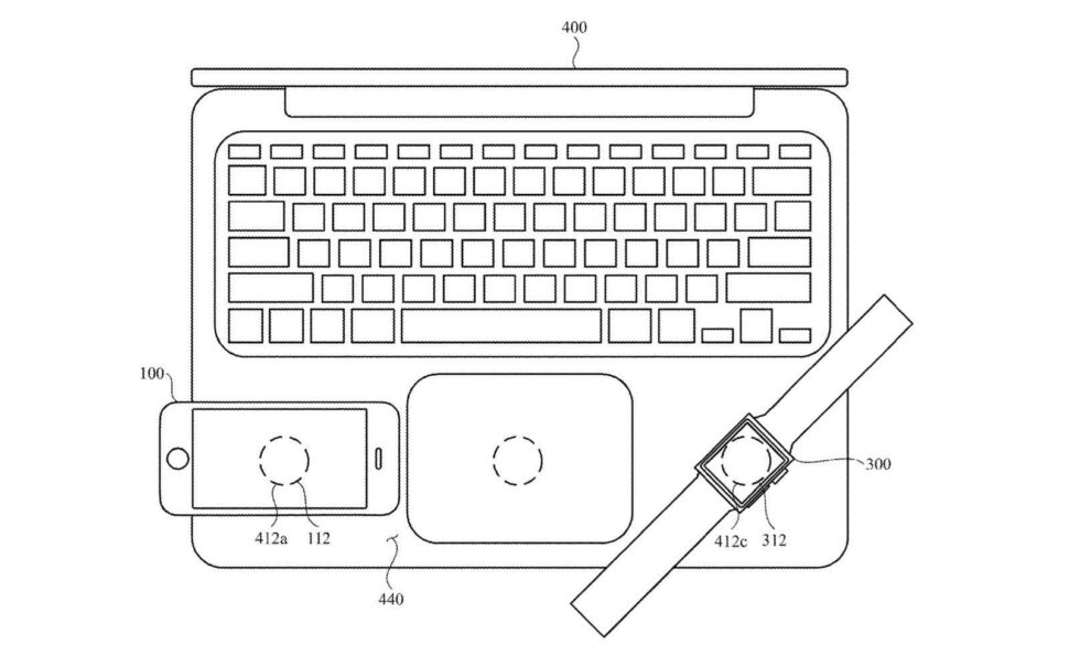 Wireless charging iPhone on your MacBook