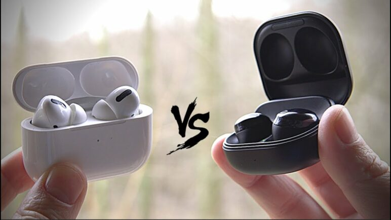 Galaxy Buds Pro VS AirPods Pro - Apple VS Samsung..who is the real Pro??