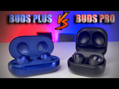 Samsung Galaxy Buds Pro VS Samsung Galaxy Buds Plus - Whats different??