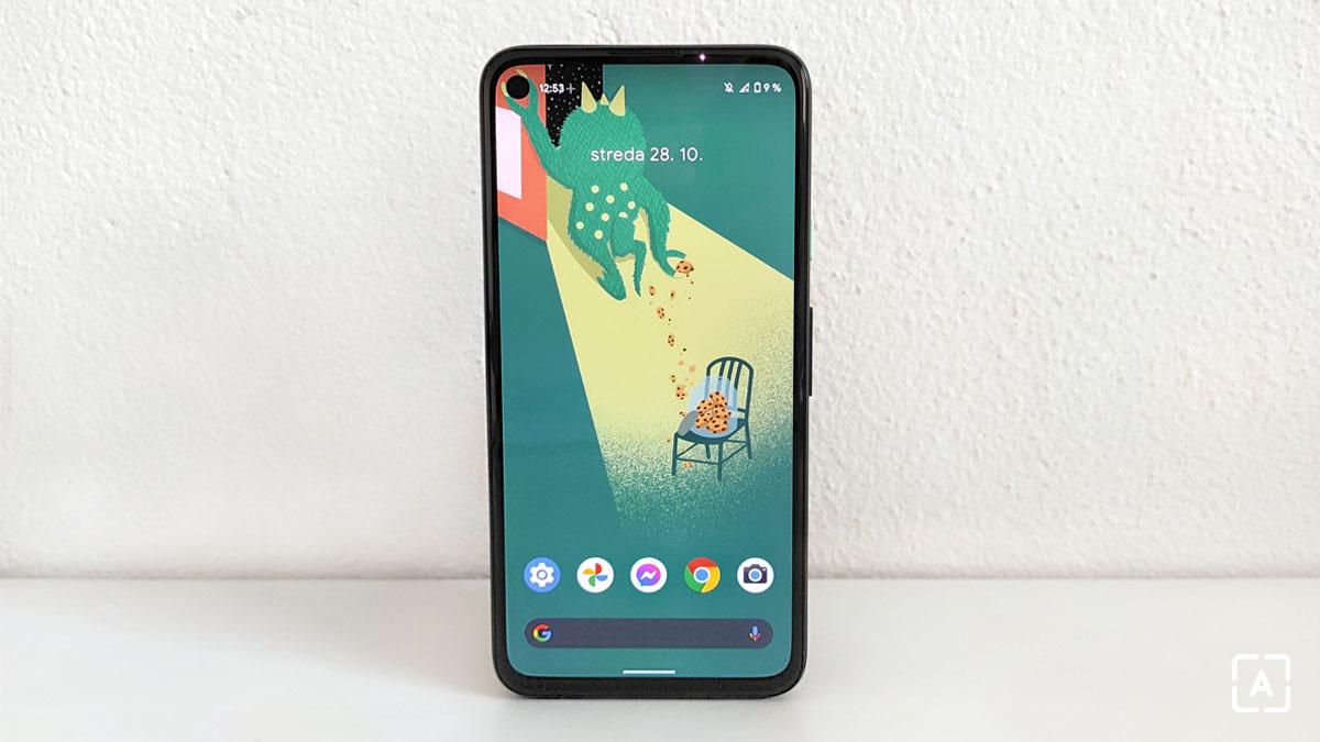 Pixel 4a display 2