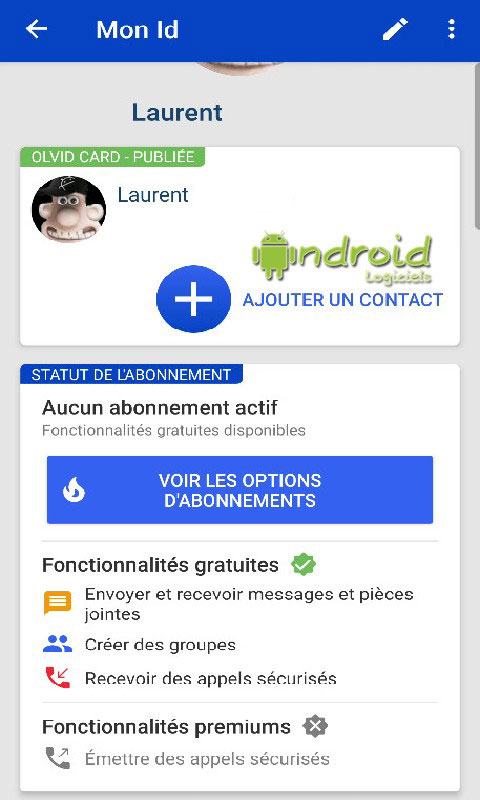 Olvid - Secure instant messaging… and French