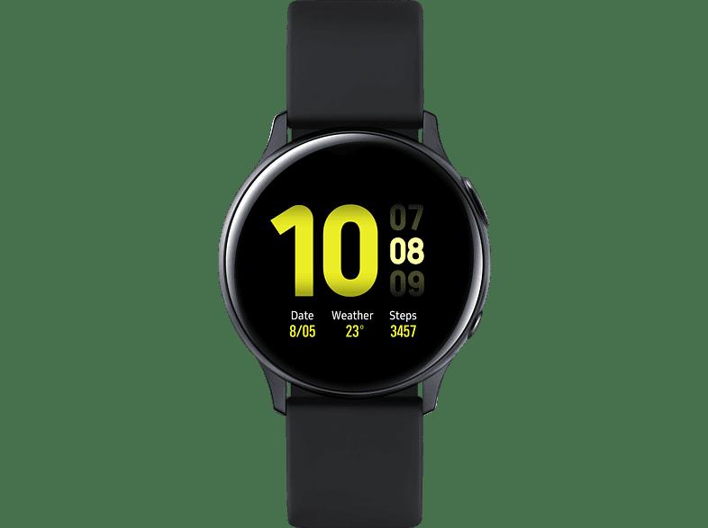 SAMSUNG Galaxy Watch Active2 Aluminum 40mm AB Smartwatch Aluminum, Fluororubber, S / M, Aqua Black