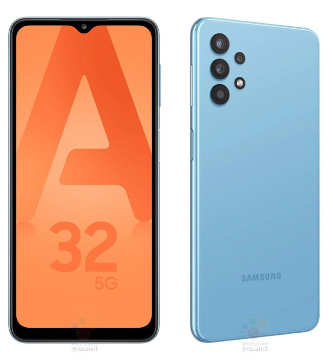 Samsung Galaxy A32 blue