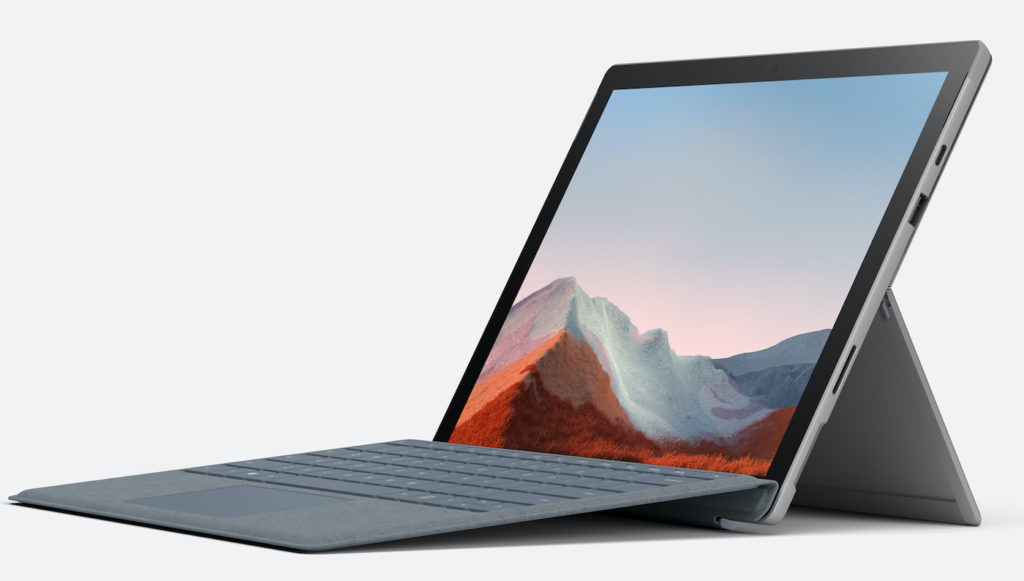 Surface Pro 7 Plus and Keyboard