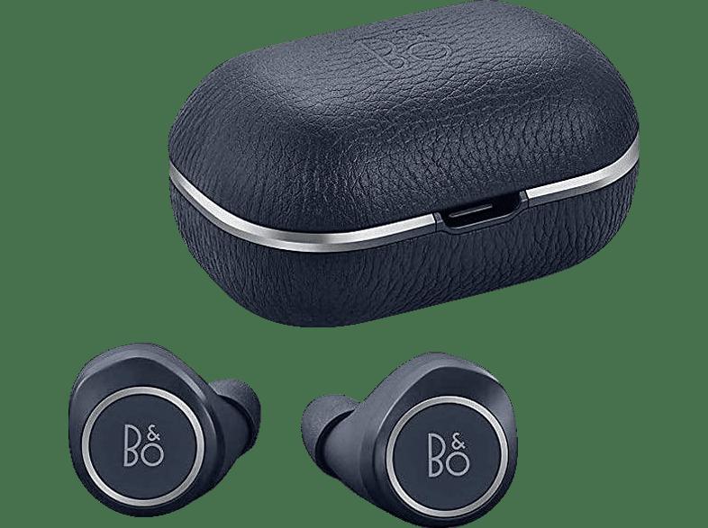 B&O PLAY E8 2.0 true wireless headphones in indigo blue