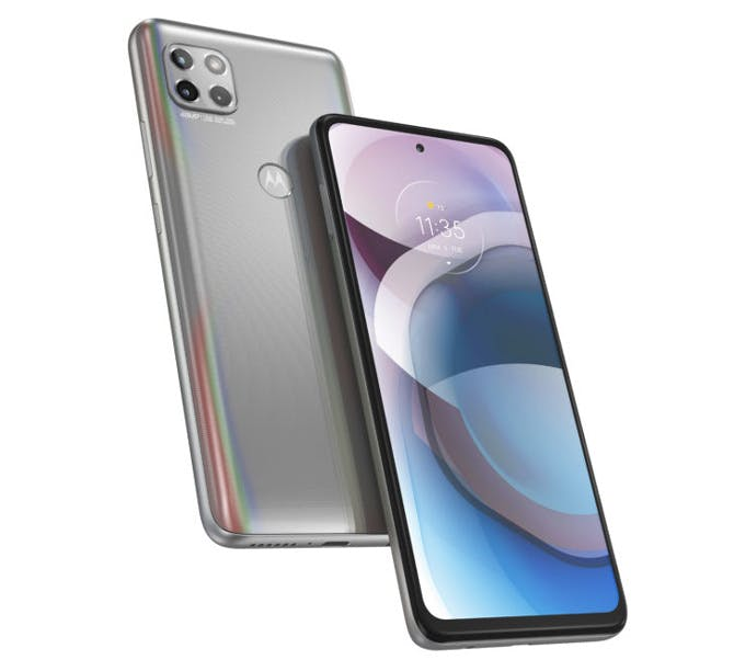 Motorola is introducing four midrange phones with Android 10