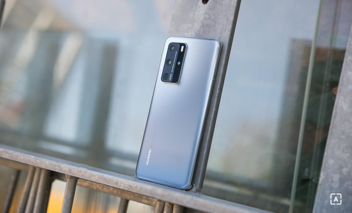 Huawei P40 Pro back matte side