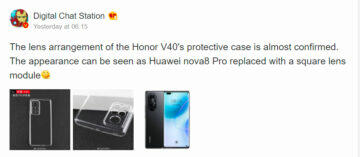 honor v40 will be introduced