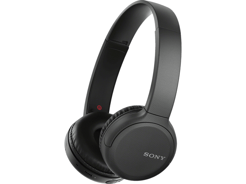 SONY WH-CH510 headphones with bluetooth in black