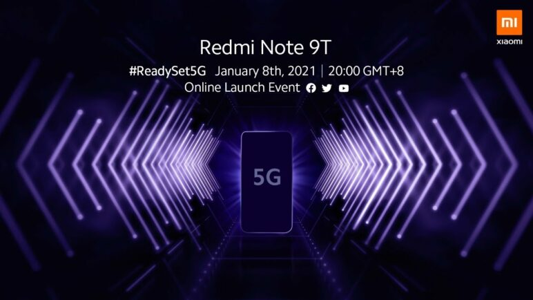 Redmi Note 9T Global Launch Event
