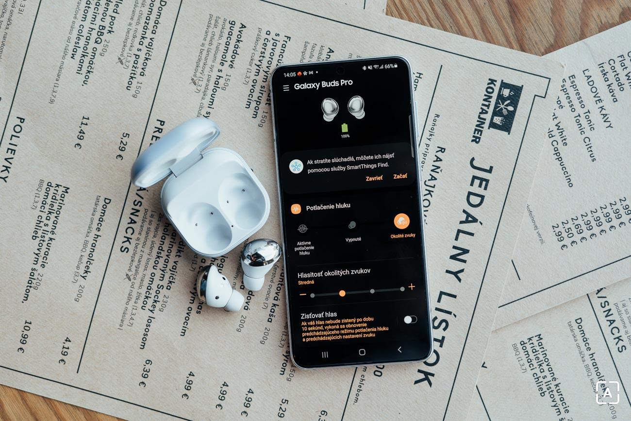Galaxy Buds Pro menu