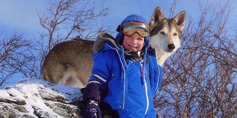 norway-snow-winter sports-kids