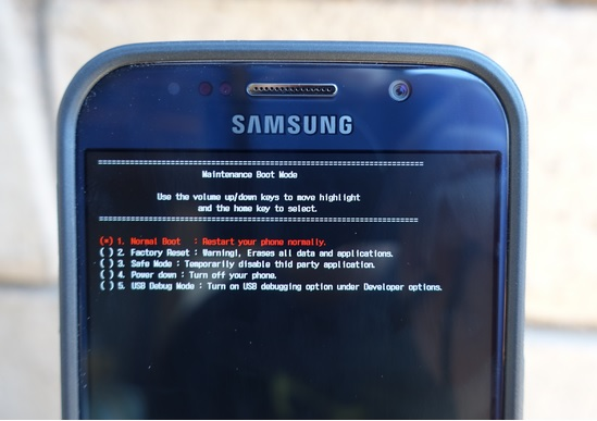 Galaxy S6 Screen Won't Turn On Problem