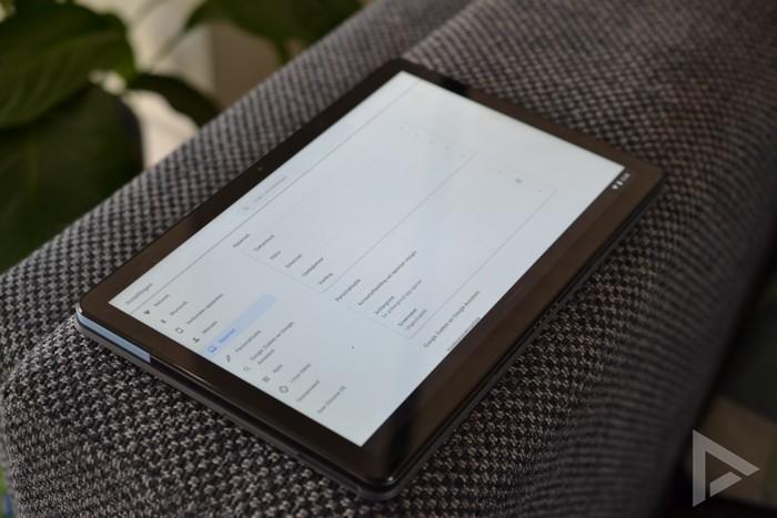 Lenovo IdeaPad Duet settings