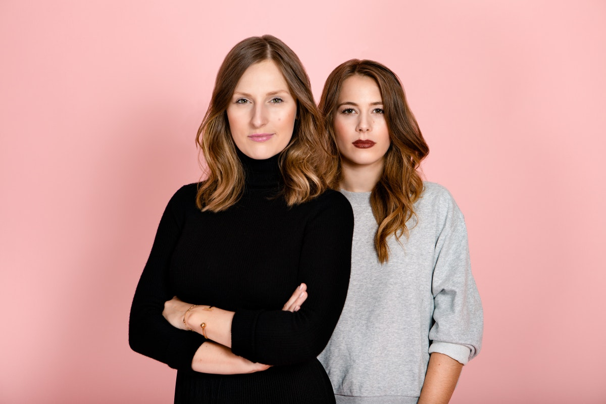 Ann-Sophie Claus and Sinja Stadelmaier, the founders of The Female Company.  (Photo: Linda Ambrosius)
