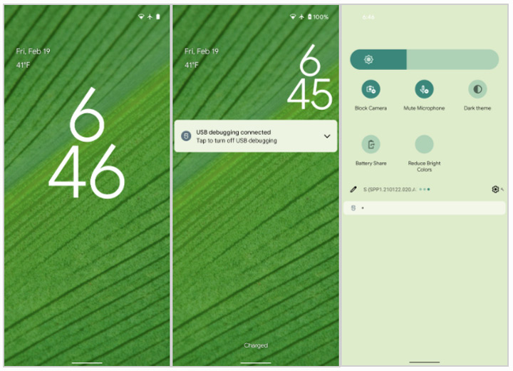 Android 12 themes