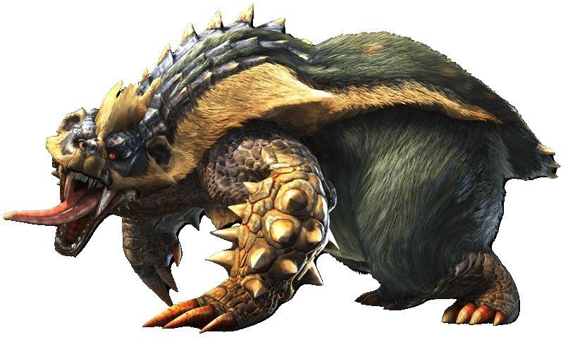 Monster Hunter Rise - Arzuros