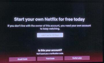 Netflix end account sharing