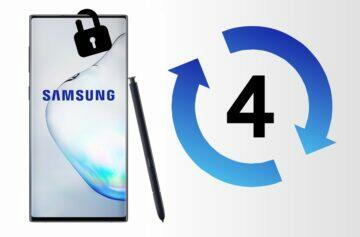 Samsung four-year security updates
