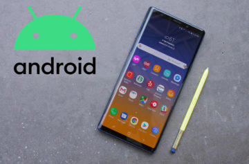 galaxy note 9 android update
